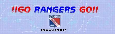 2000-2001 go rangers go